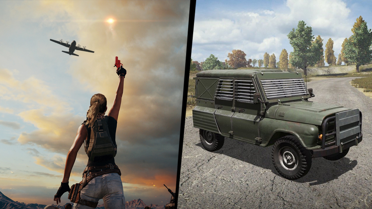 "Pubg Announces Flare Gun For Event Mode: Armored UAZs Will Drop From The Sky In PUBG's New ""Metal"