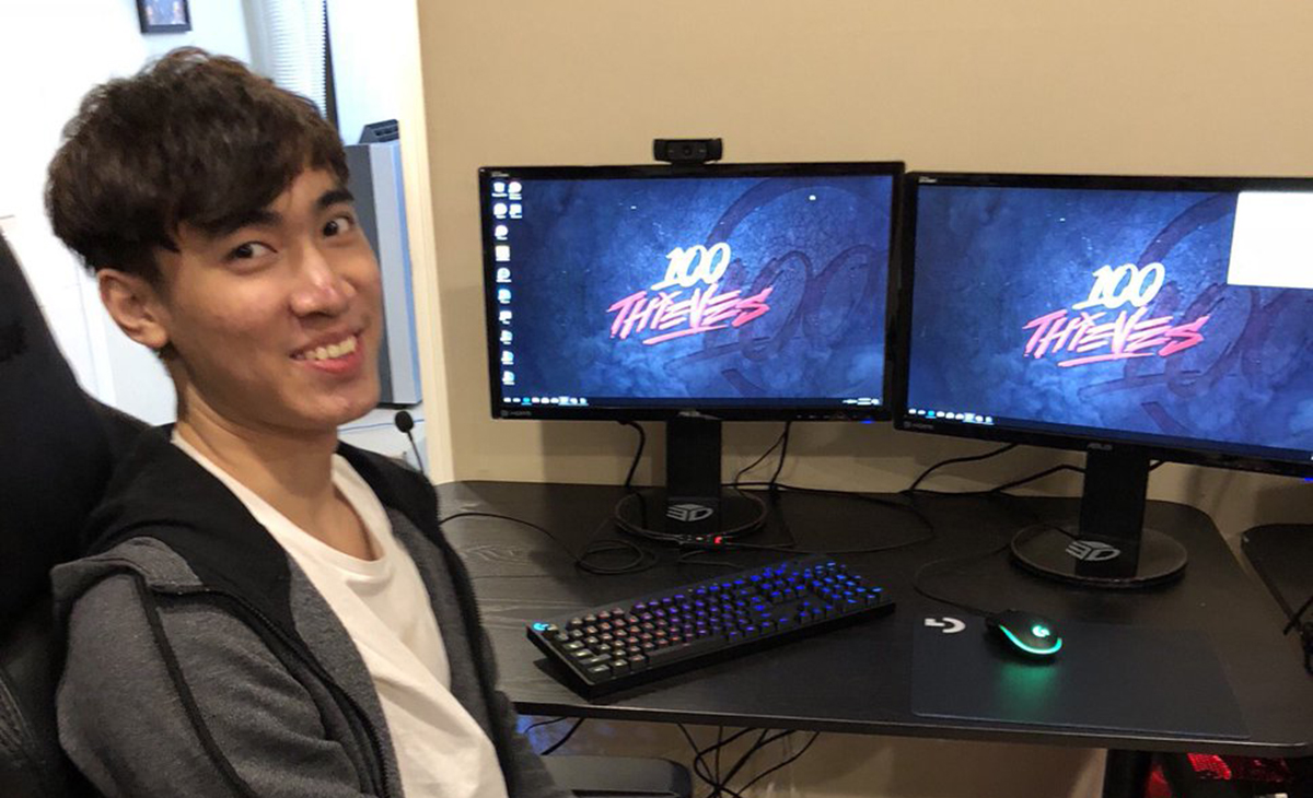Levi Is Finally In NA, Set To Play With 100 Thieves Academy This Weekend