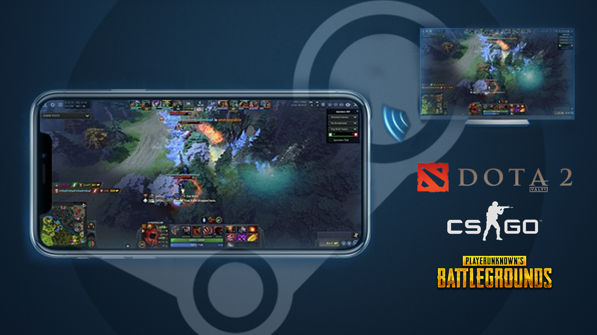 Steam Goes Mobile So You Can Access Dota 2, CS:GO & More On