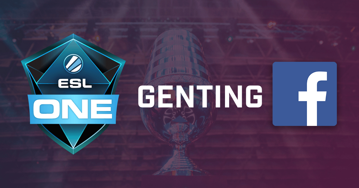 ESL One Genting Livestream Will Only Be Available On